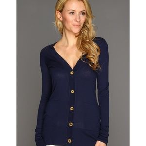 Lilly Pulitzer   Heidi Cardigan dark blue